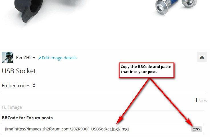 Copy BBCode